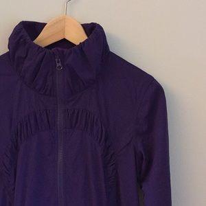 Lululemon purple jacket size 8. EUC